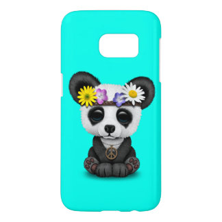 Cute Baby Panda Hippie Samsung Galaxy S7 Case