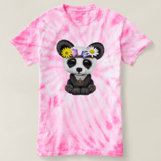Cute Baby Panda Hippie T-shirt