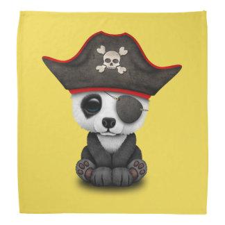 Cute Baby Panda Pirate Bandana