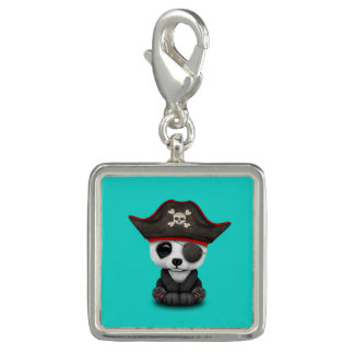 Cute Baby Panda Pirate Charm