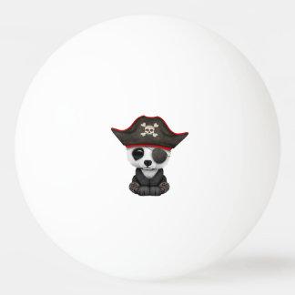 Cute Baby Panda Pirate Ping Pong Ball
