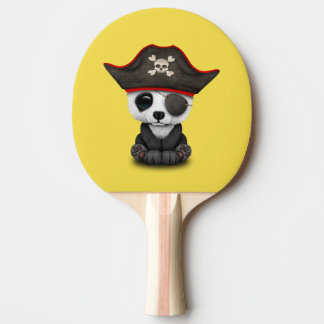 Cute Baby Panda Pirate Ping-Pong Paddle