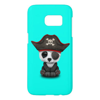 Cute Baby Panda Pirate Samsung Galaxy S7 Case