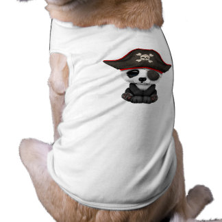 Cute Baby Panda Pirate Shirt