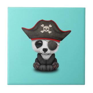 Cute Baby Panda Pirate Tiles
