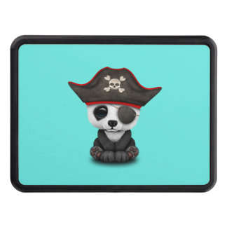 Cute Baby Panda Pirate Trailer Hitch Cover