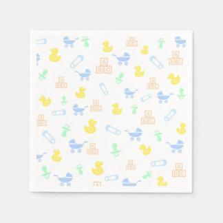 Cute Baby Paper Napkin