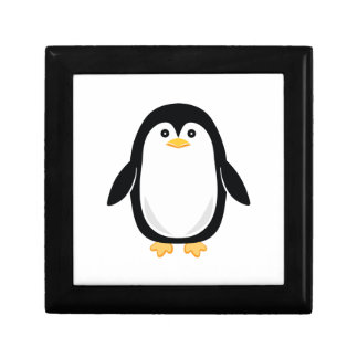 Cute Baby Penguin Gift Box
