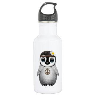 Cute Baby Penguin Hippie 532 Ml Water Bottle