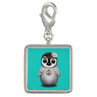 Cute Baby Penguin Hippie Charm