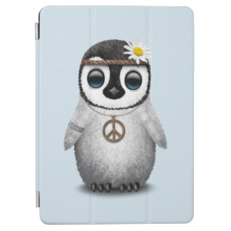 Cute Baby Penguin Hippie iPad Air Cover