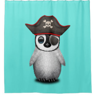 Cute Baby Penguin Pirate