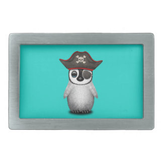 Cute Baby Penguin Pirate Belt Buckles