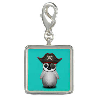 Cute Baby Penguin Pirate Charm