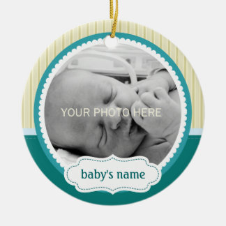 Cute Baby Photo Ornament