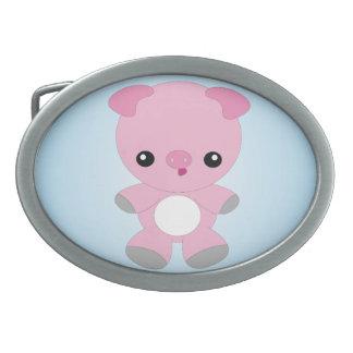Cute Baby Pig belt buckle