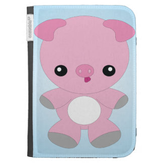 Cute Baby Pig Kindle case