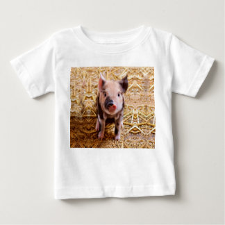 Cute Baby Piglet Farm Animals Babies Baby T-Shirt