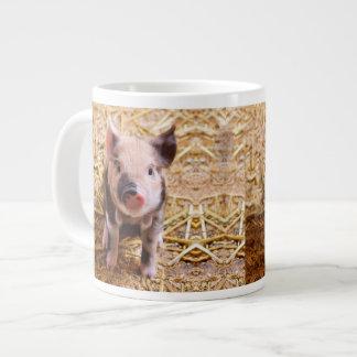 Cute Baby Piglet Farm Animals Babies Giant Coffee Mug