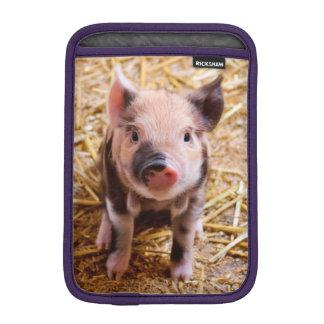 Cute Baby Piglet Farm Animals Babies iPad Mini Sleeves