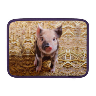 Cute Baby Piglet Farm Animals Babies MacBook Air Sleeve
