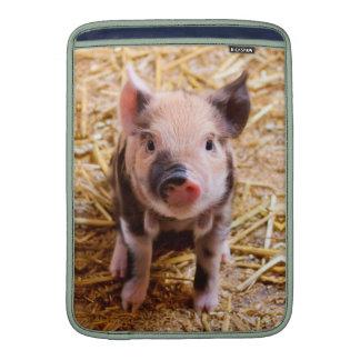 Cute Baby Piglet Farm Animals Babies MacBook Sleeve