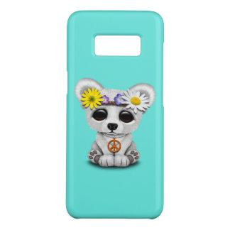 Cute Baby Polar Bear Cub Hippie Case-Mate Samsung Galaxy S8 Case