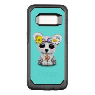 Cute Baby Polar Bear Cub Hippie OtterBox Commuter Samsung Galaxy S8 Case