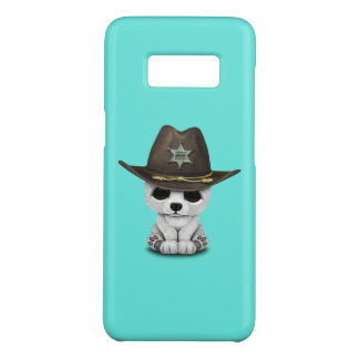 Cute Baby Polar Bear Cub Sheriff Case-Mate Samsung Galaxy S8 Case