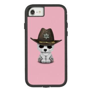 Cute Baby Polar Bear Cub Sheriff Case-Mate Tough Extreme iPhone 8/7 Case