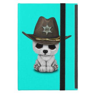 Cute Baby Polar Bear Cub Sheriff iPad Mini Case
