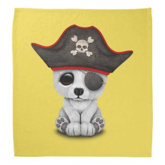 Cute Baby Polar Bear Pirate Bandanna