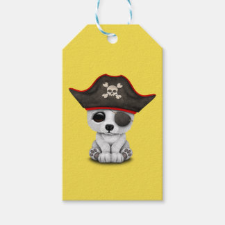 Cute Baby Polar Bear Pirate Gift Tags