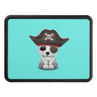 Cute Baby Polar Bear Pirate Hitch Covers