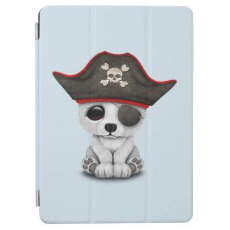 Cute Baby Polar Bear Pirate iPad Air Cover