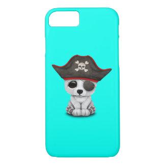 Cute Baby Polar Bear Pirate iPhone 8/7 Case