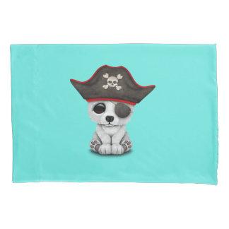 Cute Baby Polar Bear Pirate Pillowcase
