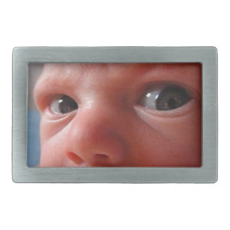 Cute baby rectangular belt buckles