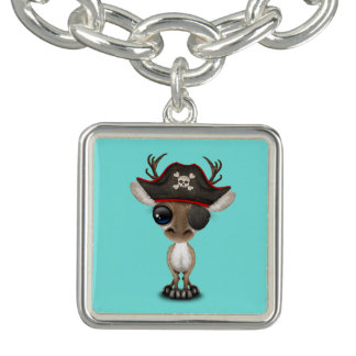 Cute Baby Reindeer Pirate Bracelet
