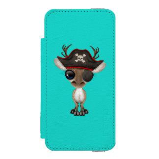 Cute Baby Reindeer Pirate Incipio Watson™ iPhone 5 Wallet Case