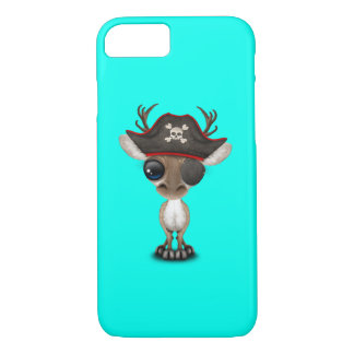 Cute Baby Reindeer Pirate iPhone 8/7 Case
