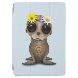 Cute Baby Sea Lion Hippie iPad Air Cover
