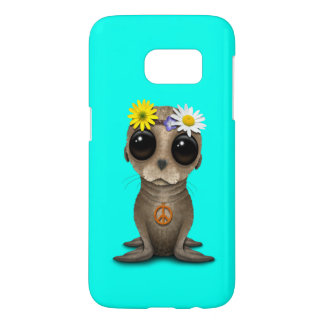 Cute Baby Sea Lion Hippie Samsung Galaxy S7 Case