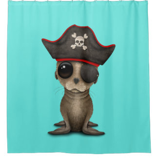 Cute Baby Sea lion Pirate