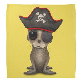 Cute Baby Sea lion Pirate Bandana