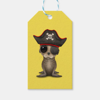 Cute Baby Sea lion Pirate Gift Tags