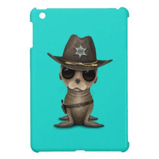 Cute Baby Sea Lion Sheriff Case For The iPad Mini
