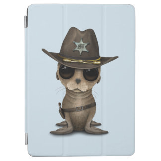Cute Baby Sea Lion Sheriff iPad Air Cover