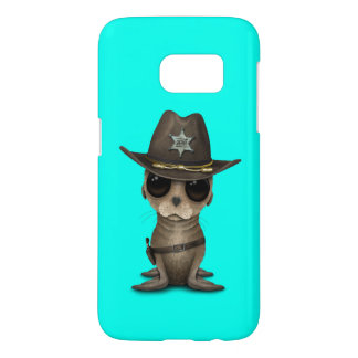 Cute Baby Sea Lion Sheriff Samsung Galaxy S7 Case