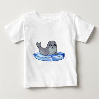 Cute baby seal cartoon baby T-Shirt